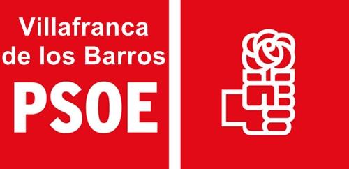 Ramón Ropero y Andrés Moriano miembros de la ejecutiva provincial del PSOE de la Provincia de Badajoz